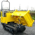 NC CONSTRUCTION LATEST MODEL 1 ton 3 way tip tracked dumper