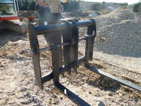 CB HEADSTOCK STYLE FORKS FOR EXCAVATORS FROM 5 TON TO 20TON +
