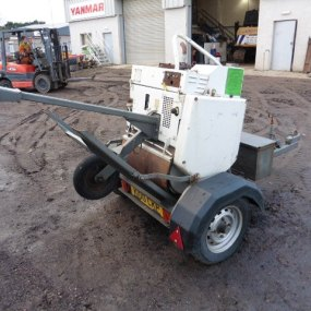 Terex MB71 Roller Complete with trailer + Hyd breaker
