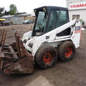 Bobcat S130 Yr 2006 Complete with Bucket Forks + Bale Spike 6700 hrs New Tyres